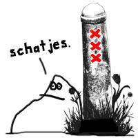 Schatjes_Amsterdam_paaltje